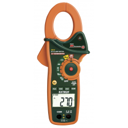 Extech 1000A AC Clamp Meters with IR Thermometer EX810