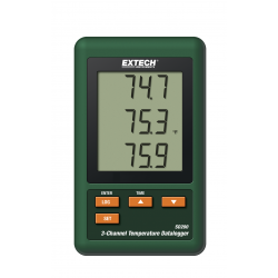 Extech 3-Channel Temperature Datalogger with SD Card SD200