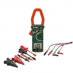 Extech 380976-K Single Phase / Three Phase 1000A AC Power Clamp Meter Kit