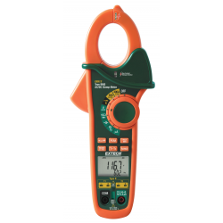 Extech 400A AC/DC Dual Input K Thermocouple Clamp Meter EX613