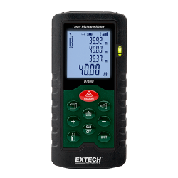 Extech Laser Distance Meter DT40M Calculates Area and Volume