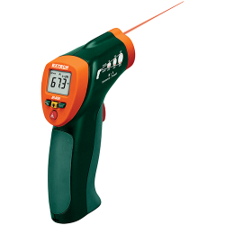 Extech IR400 Mini IR Thermometer - Compact 8:1 Infrared Thermometer with built-in laser pointer