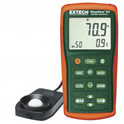 Extech EasyView Light Meter with Memory - EA33