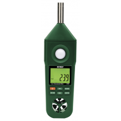 Extech EN300 Hygro Thermo Anemometer Light Sound Meter