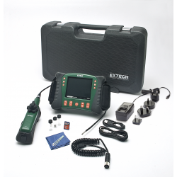 Extech HD VideoScope Inspection Monitor with Articulating Probe & Camera HDV640