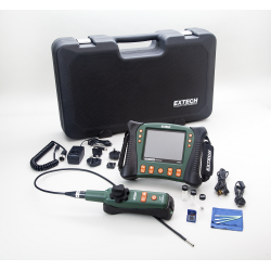 Extech HDV640W HD VideoScope Monitor, Wireless Handset with Articulating probe