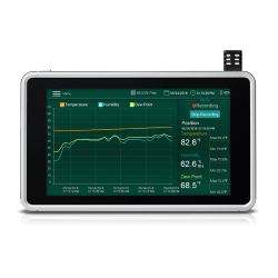 Extech RH550 - Humidity/Temperature Chart Recorder with Touch Screen