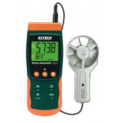 Extech SDL300 Metal Vane Thermo-Anemometer & Datalogger Records data on an SD card in Excel® format