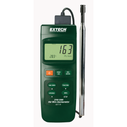 Extech Hot Wire CFM Anemometer with PC Interface 407119