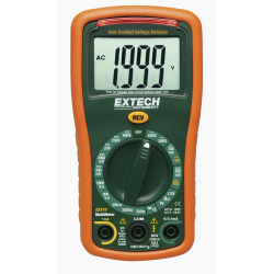 Extech Mini MultiMeter with Non-Contact AC Voltage Detector EX310
