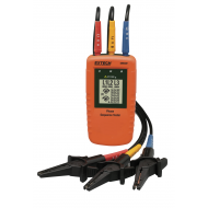 Extech 480400 Multiline LCD 3-Phase Rotation Tester