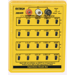 Extech Capacitance Decade Box 380405