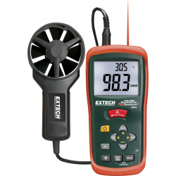 Extech CFM / CMM Thermo-Anemometers with IR Thermometer AN200