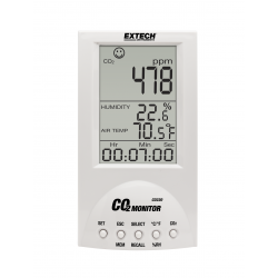 Extech CO220 Desktop Indoor Air Quality CO2 Meter (Carbon Dioxide)