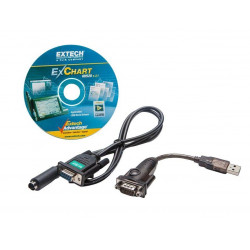 Extech Replacement RH520 Serial Data Cable