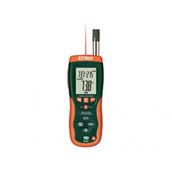 Extech Psychrometer with 30:1 InfraRed Thermometer HD500