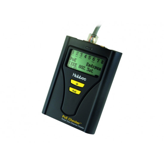 Hobbes PoE Checker / PoE Tester with Dual Sockets and Power measured in Watts