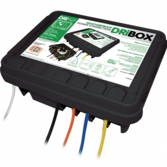 DriBox 330 Weatherproof Outdoor Electrical Cable Junction Box IP55