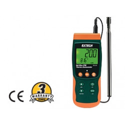 Extech SDL350 Hot Wire Anemometer / Datalogger Records to SD Card