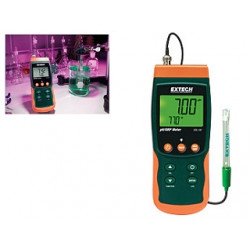 Extech pH / ORP / Temperature Datalogger with SD card Recording SDL100