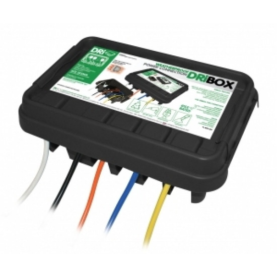 Dribox 285 Weatherproof outdoors electrical connection box enclosure IP55