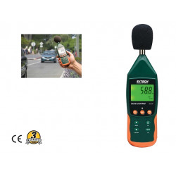 Extech SD Card Data Logging Sound Level Meter SDL600