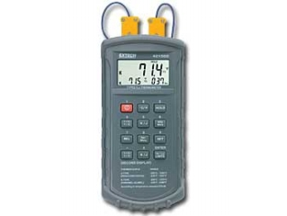 Type J/K, Dual Input Thermometer with Alarms