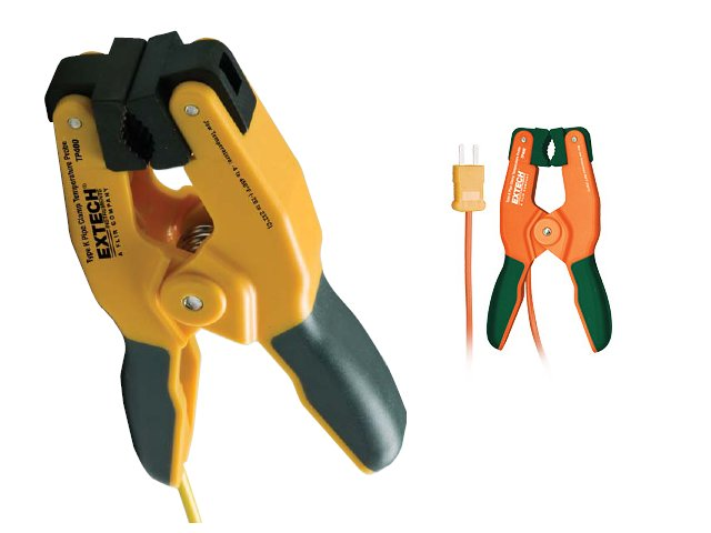 Extech TP400 Type K High Temperature Pip Clamp Probe