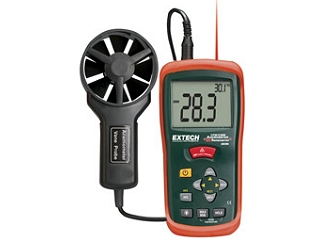 CFM / CMM Thermo-Anemometers with IR Thermometer AN200
